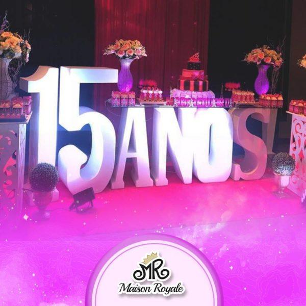 Buffet Maiso Royale - Festa de 15 anos